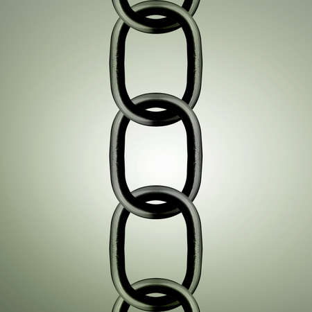 Metal chain parts background.  Stock Photo - 14613361