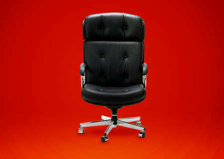 Black armchair, good concept for free position, good career, out of box and peace of mind.  Stock Photo - 15551245
