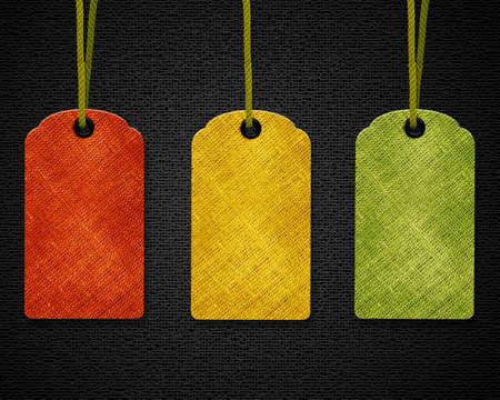 massage symbol: Blank Price Tags