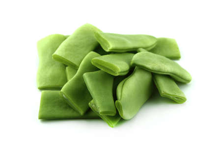large bean: Frozen green beans for cooking