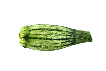 fresh zucchini fruits, Fresh vegetable marrow.  with a clipping path photo