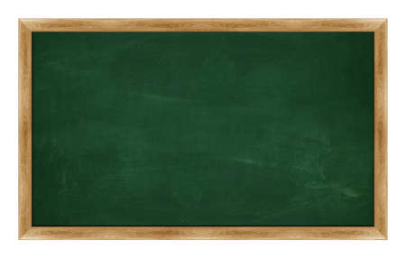 greenboard: black Green chalk board . (with clipping work path)