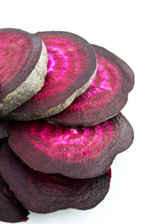 rote: Fresh Beetroot sliced background.