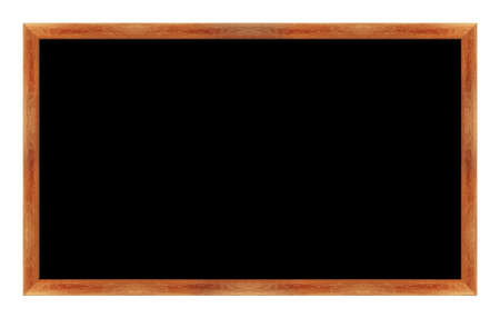 black Black chalk board . (with clipping work path) photo