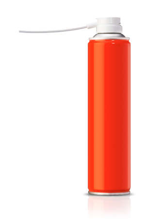 insecticide: Aluminum spray can, you can use it as painting spray can or Insecticide can.   Stock Photo