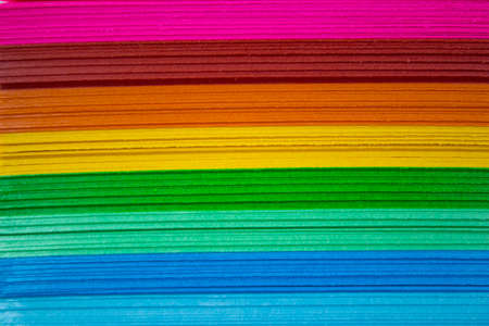 colored paper: Colourful Paper isolated on white.