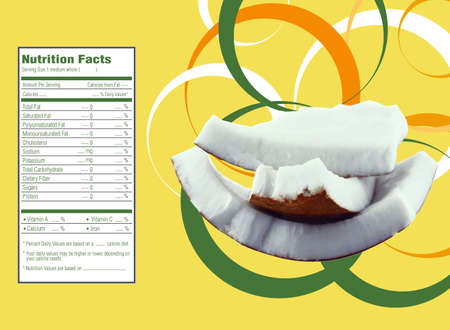 facts: coconut nutrition facts