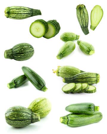 médula: Sana y orgánica de alimentos, Conjunto de calabacín fresco o médula.