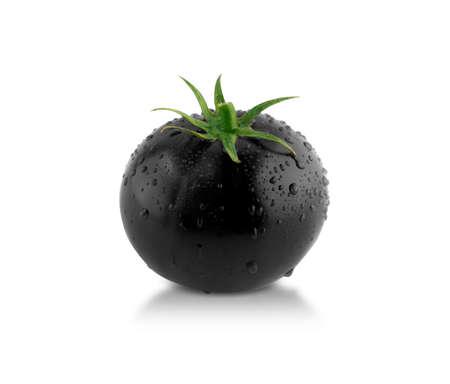 Black tomato! creative concept, something different. photo