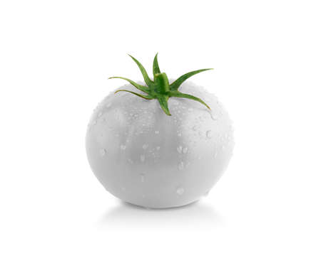 3d weird: Gray tomato! creative concept, something different.