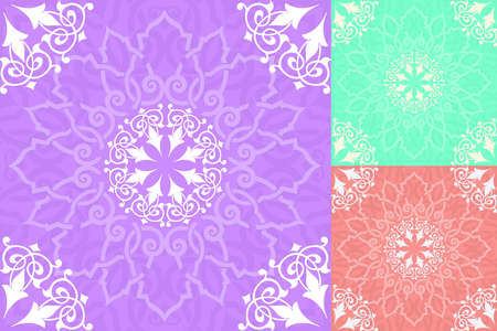 malaysia culture: Background with seamless pattern in islamic style