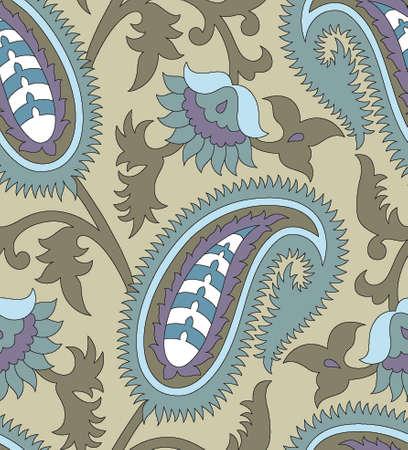 paisley pattern Vector illustration. Illustration