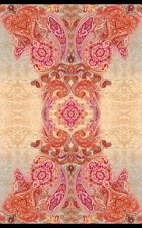 Paisley  traditional pattern Фото со стока