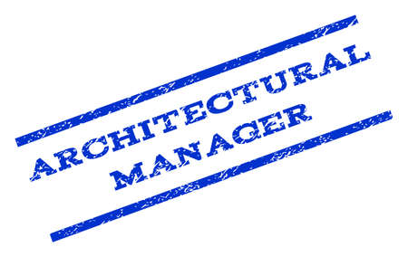 architectural manager watermark stamp text caption between parallel