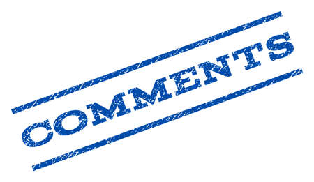comments: Comments watermark stamp.