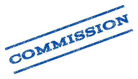 commission: Commission watermark stamp. Illustration