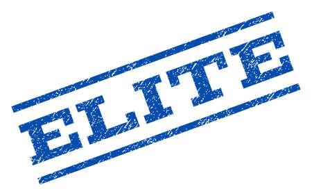 elite: Elite watermark stamp. Illustration