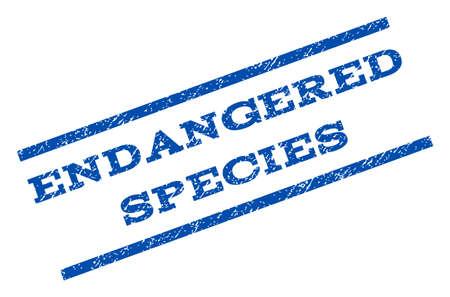 endangered species: Endangered Species watermark stamp.
