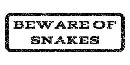 beware: Beware Of Snakes watermark stamp.