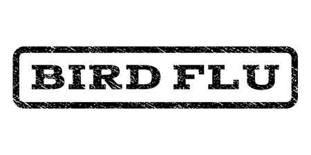 bird flu: Bird Flu watermark stamp. Illustration