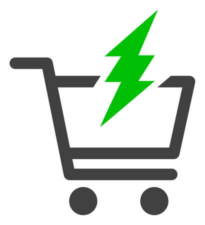 Proceed purchase icon on a white background. Isolated proceed purchase symbol with flat style.