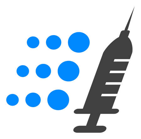 Fast vaccine icon on a white background. Isolated fast vaccine symbol with flat style. Stock fotó - 154828830