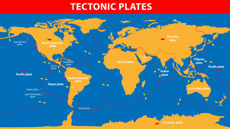 oceanic: Plate tectonics   Earth