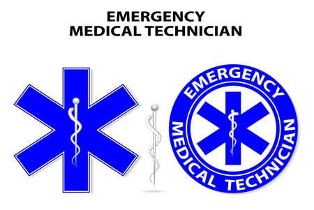 Emergency medical technician global symbol