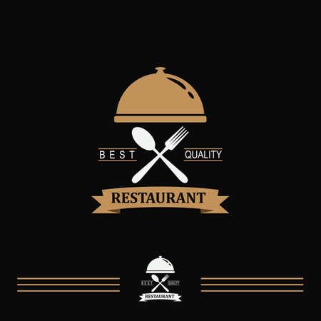 Food restaurant vintage logo