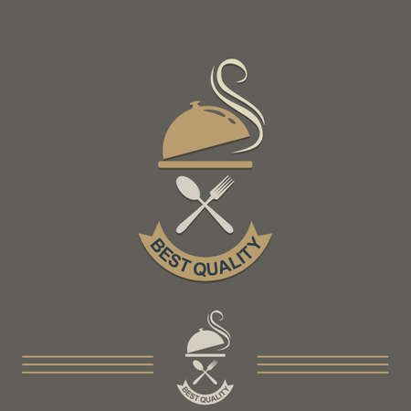 A restaurant best quality vintage vector logo