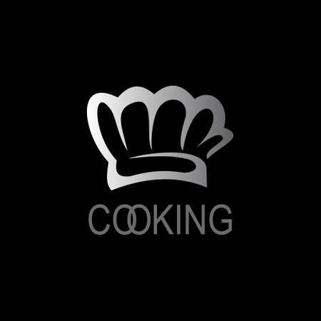 Cooking hat chef icon. Çizim