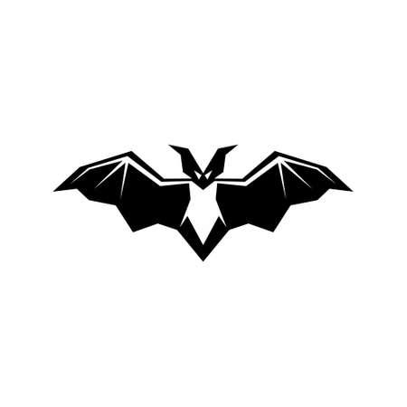 bat animal vector illustration.