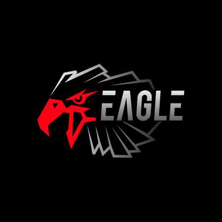 eagle vector logo Ilustração