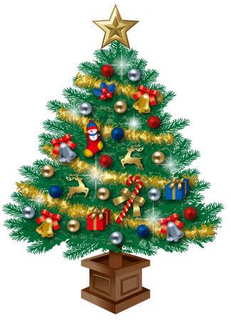Christmas Tree 免版税图像