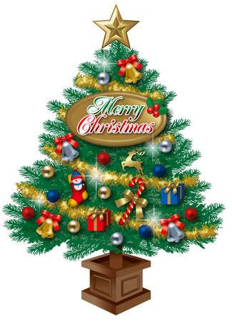 クリスマス ツリー 写真素材