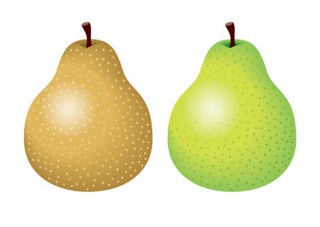 speckled: Pears Stock Photo
