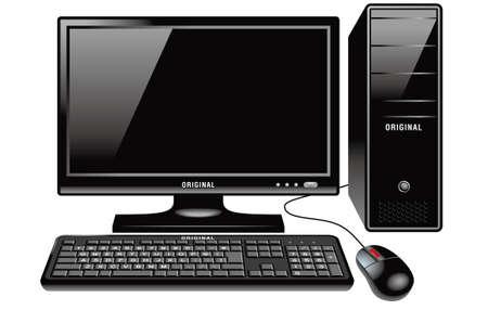 screen type: Desktop computer