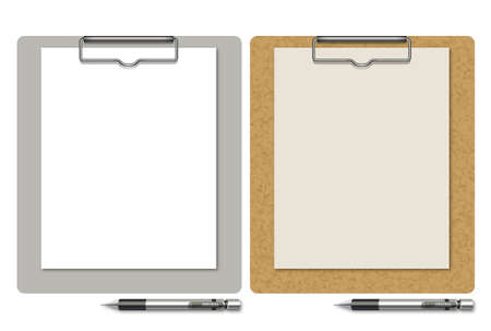 Clipboard and Mechanical pencil