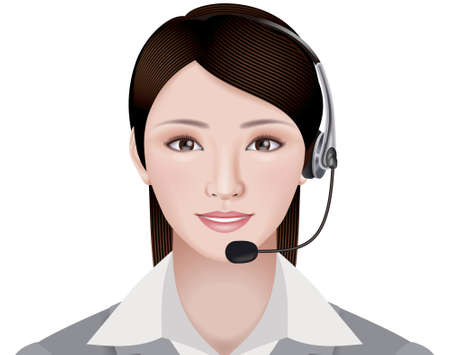 Call center Reklamní fotografie