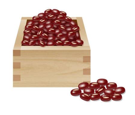 Red beans: Azuki, đậu đỏ, Chất liệu của đồ ngọt