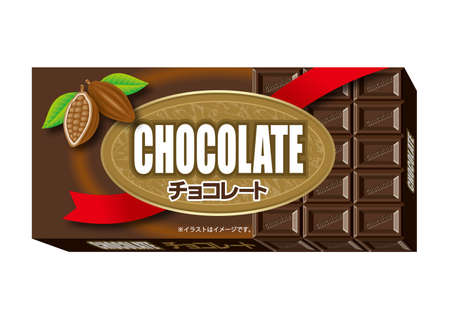 Chocolate package. photo