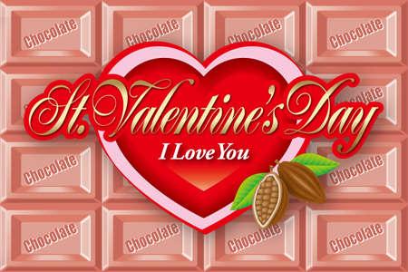 Valentines Day Card. photo