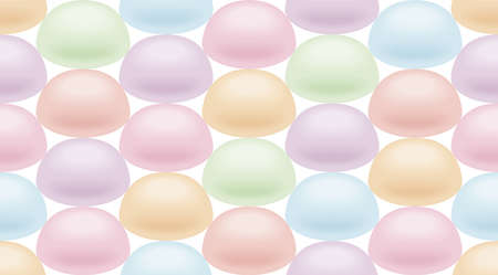 Fond d'écran de la guimauve, Endless motif. Banque d'images - 31629941