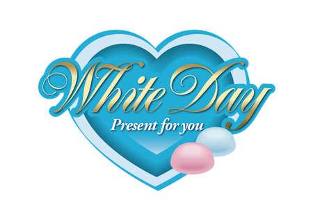 habit: White day,Habit of East Asia. Stock Photo