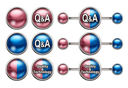service sphere support web: Question and answer button.