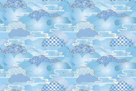 Seamless patterns. photo