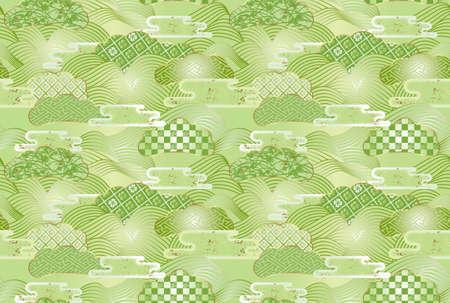 Seamless patterns. 免版税图像 - 36633116