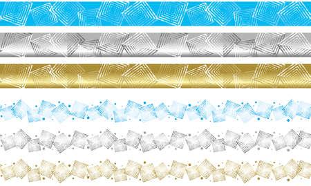 Het patroon van het kristal van zout.