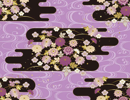 The Japanese pattern. Seamless.