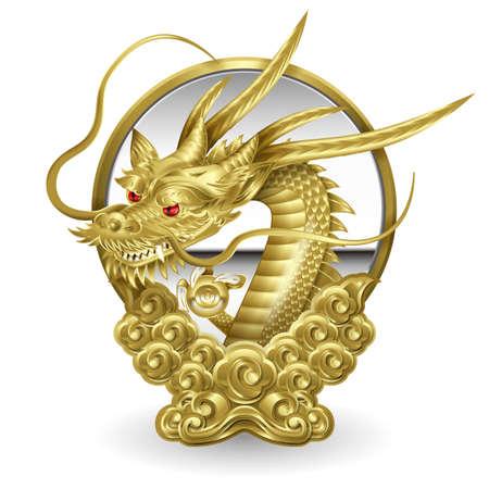 Illustration of a dragon.